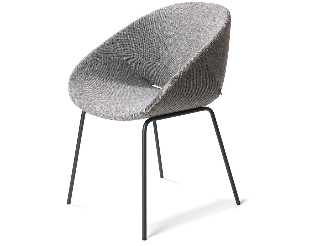 metal leg chair alps mountaineering grand rapids beso 4 armchair hivemodern