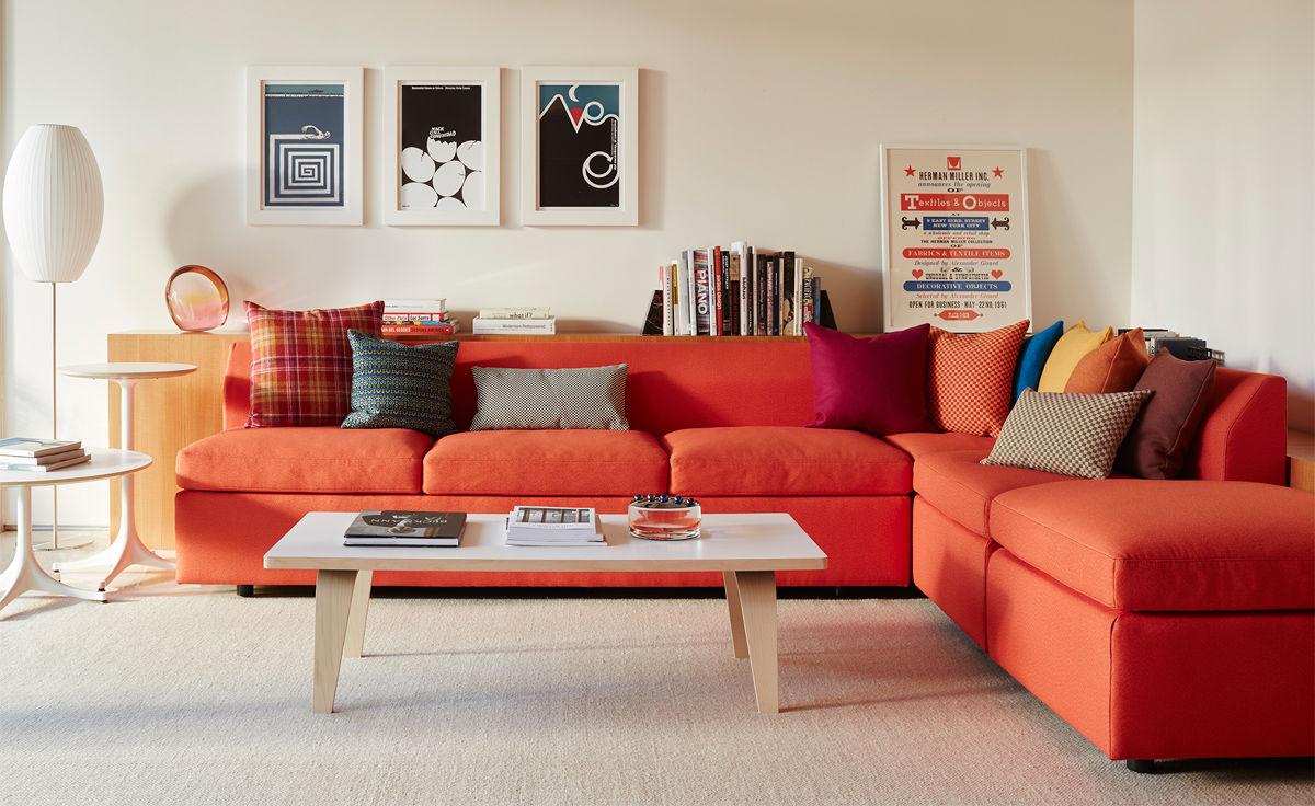 bevel sectional sofa