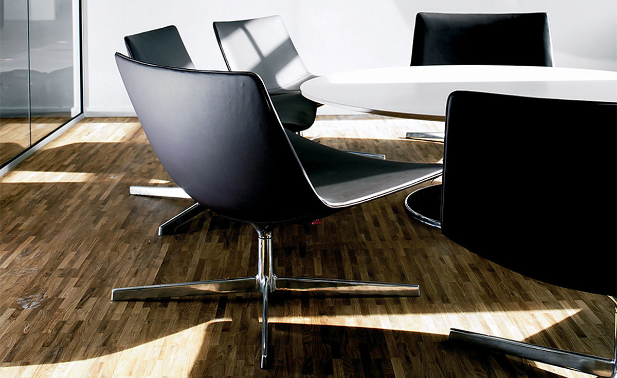 Catifa 80 Lounge Chair With Pedestal Base  hivemoderncom