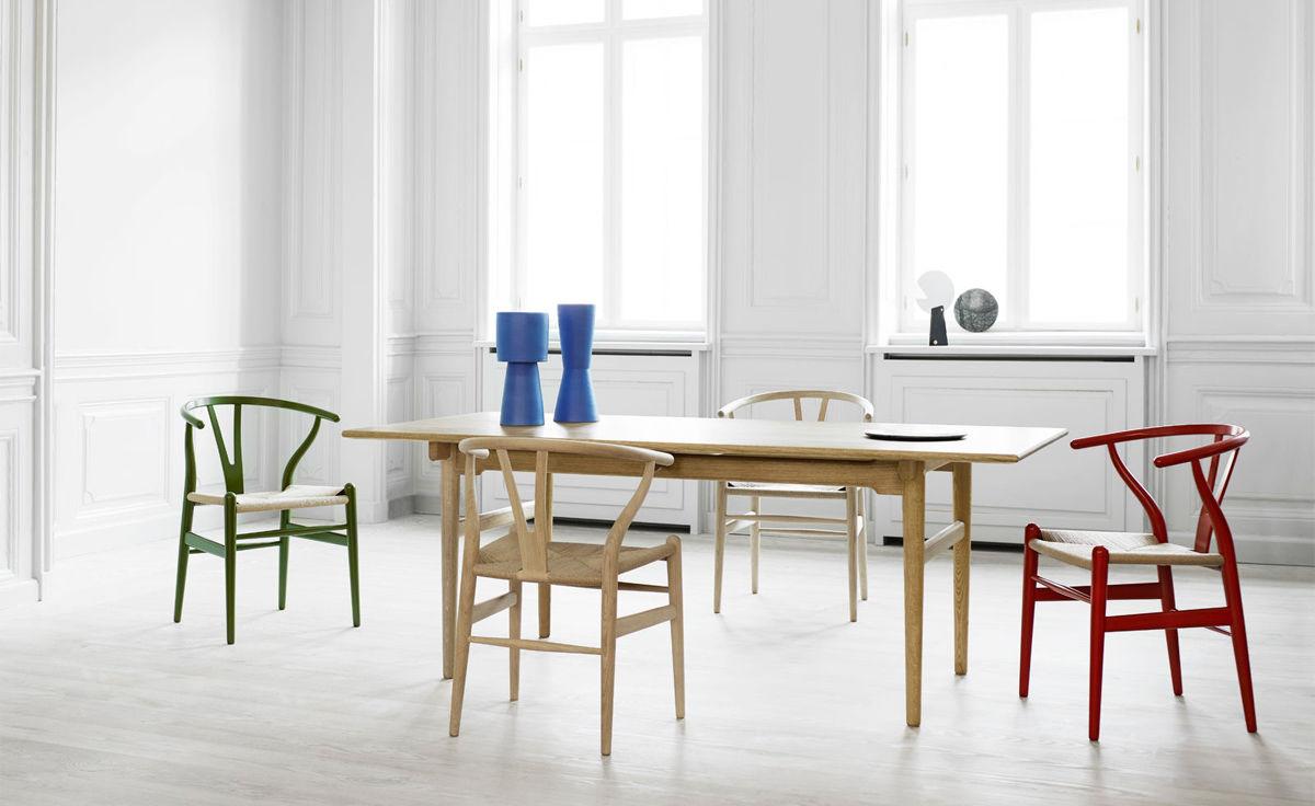 Ch24 Wishbone Chair  Color  hivemoderncom