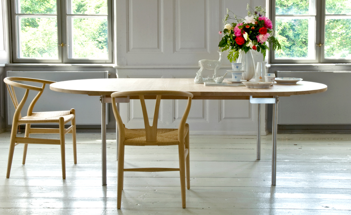 Wishbone Dining Chair Ch24 Wishbone Chair Wood