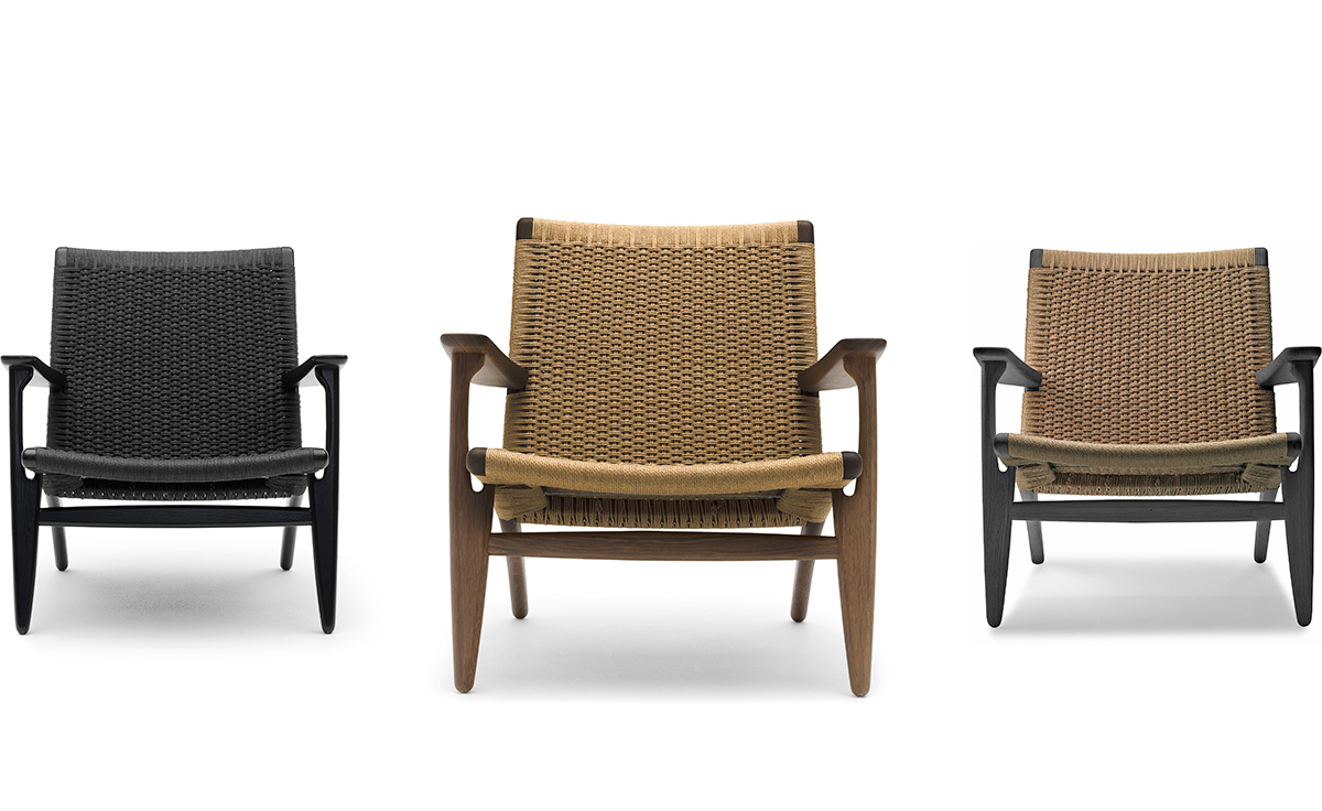 pages product carl hansen hans wegner ch lounge chair