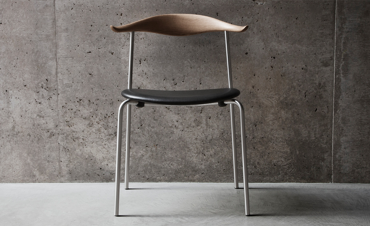 Hans Wegner Ch88 Stacking Chair With Upholstered Seat  hivemoderncom