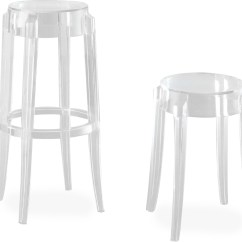 Ghost Chair Bar Stool Luxury Christmas Covers Charles 2 Pack Hivemodern