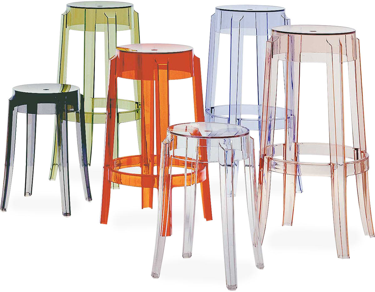 ghost chair bar stool high that attaches to charles 2 pack hivemodern