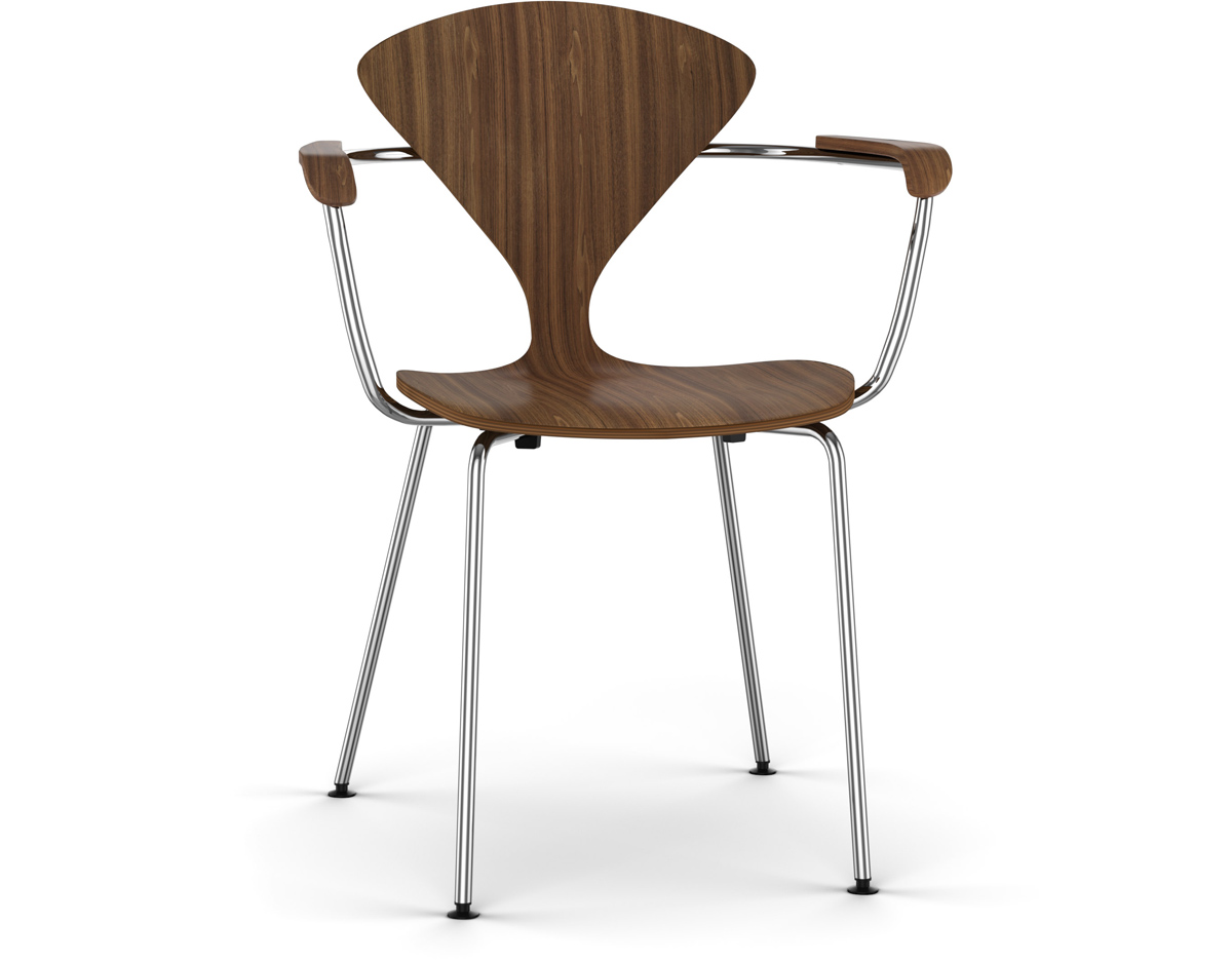 chair steel legs office dubai cherner metal leg arm hivemodern
