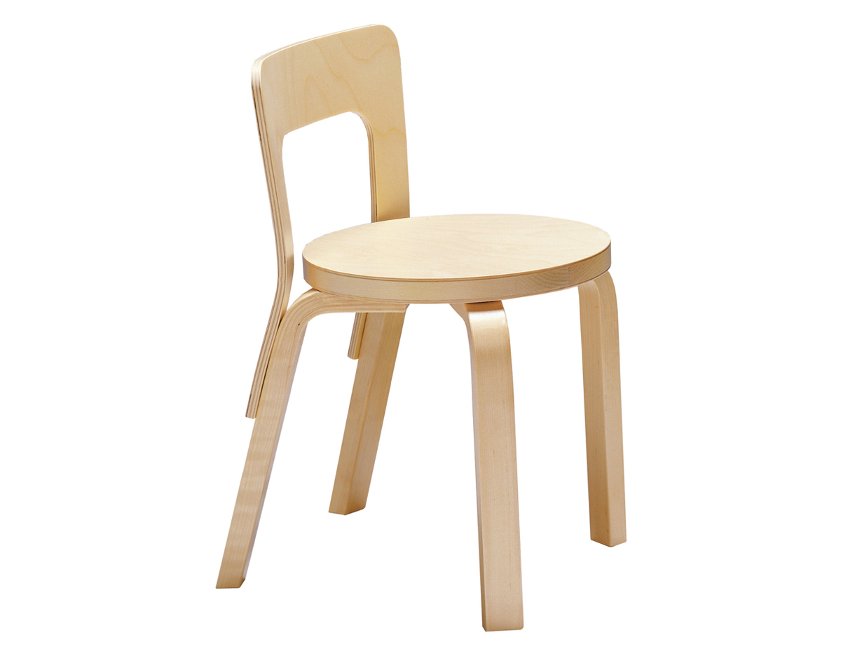 Alvar Aalto Childrens Chair N65  hivemoderncom