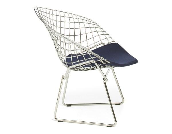 Child's Diamond Chair With Seat Cushion - hivemodern.com