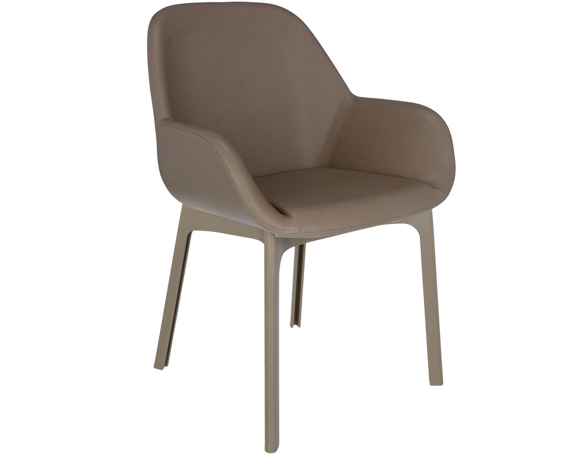 swing chair patricia urquiola fabric covered side chairs clap pvc hivemodern