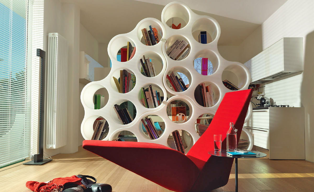 Cloud Bookcase  hivemoderncom