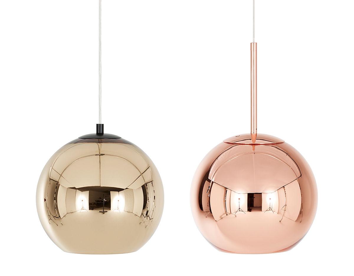 Tom Dixon Copper Pendant Light