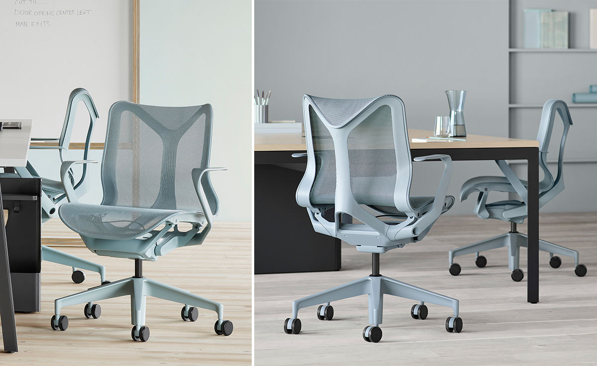 Cosm Low Back Task Chair Dipped In Color  hivemoderncom