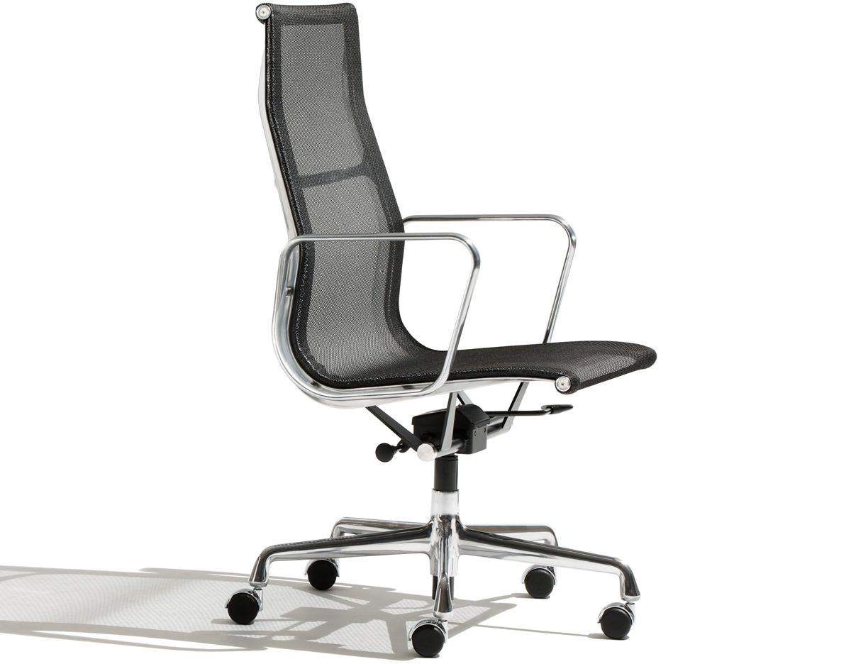 indoor rocking chairs golden technology lift eames® aluminum group executive chair - hivemodern.com