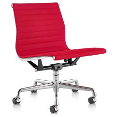 Eames Aluminum Group Management Chair Cream Accent With No Arms