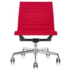 Eames Aluminum Group Management Chair Grey Parson Covers With No Arms