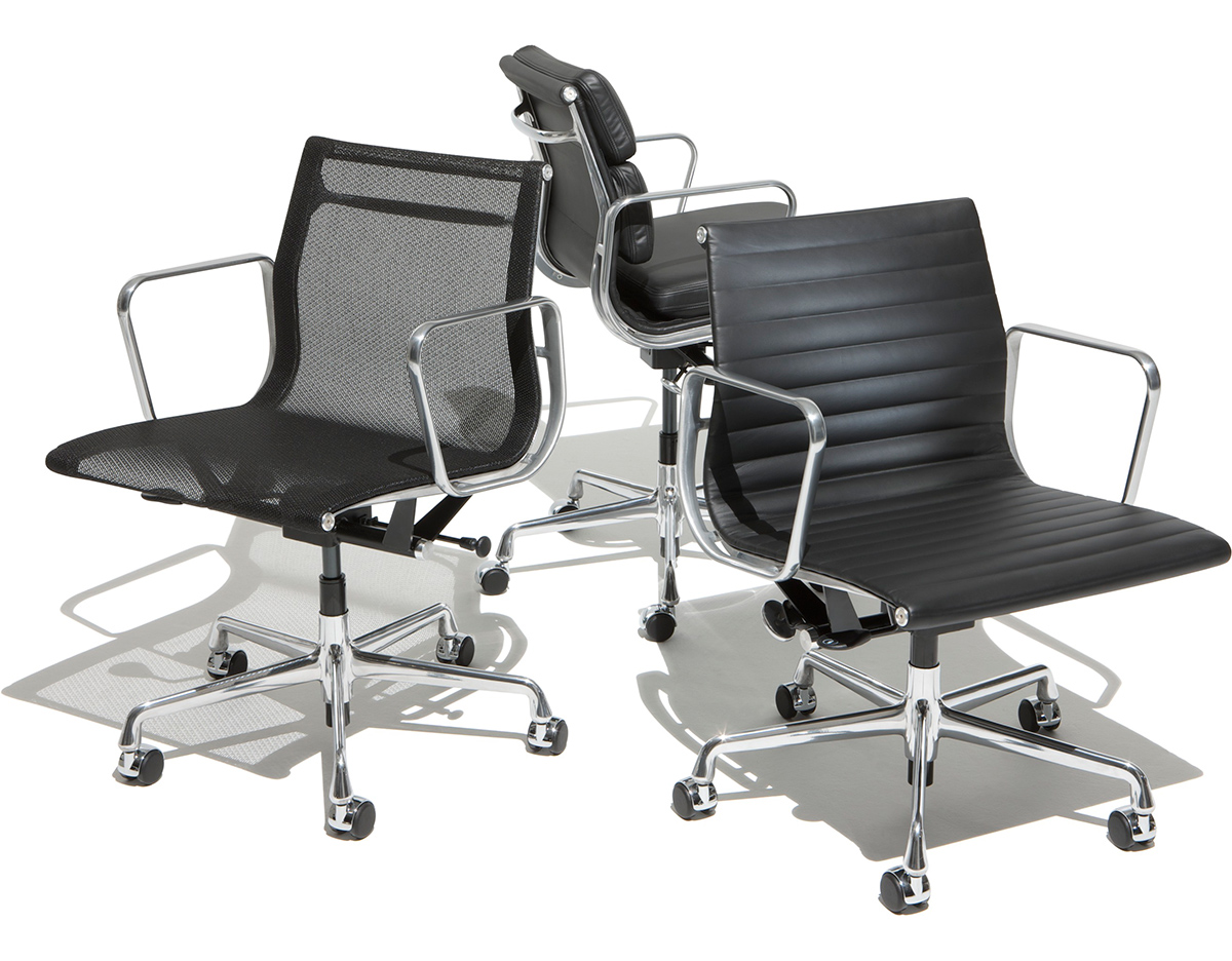 eames aluminum group management chair monkey potty hivemodern