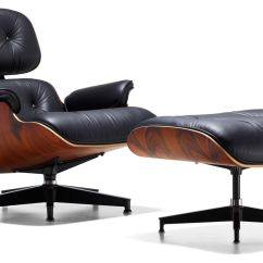 Eames Chair Herman Miller Buy Wedding Covers Uk Lounge Ottoman Hivemodern Com By From