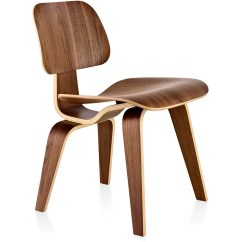 Eames Wood Chair Beach Chairs With Footrest Molded Plywood Dining Dcw Hivemodern