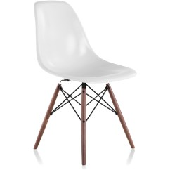 Eames Molded Side Chair Diy Folding Covers Weddings Fiberglass With Dowel Base