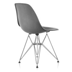 Fiberglass Shell Chair Fairfield Wingback Eames Molded Side With Wire Base Hivemodern Com