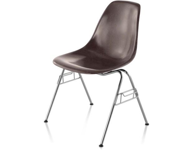 Eames Fiberglass Molded Side Chairs
