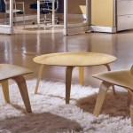 Eames Molded Plywood Coffee Table With Wood Base Hivemodern Com