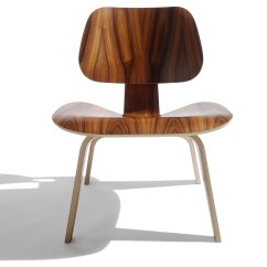 Eames Lcw Chair Blue Velvet Club Molded Plywood Lounge Hivemodern
