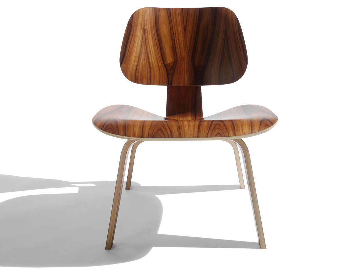 Eames Molded Plywood Lounge Chair Lcw Hivemodern  sc 1 st  Chair Covers For Dining Chairs & Eames Plywood Chair | Eames Molded Plywood Lounge Chair With Metal ...