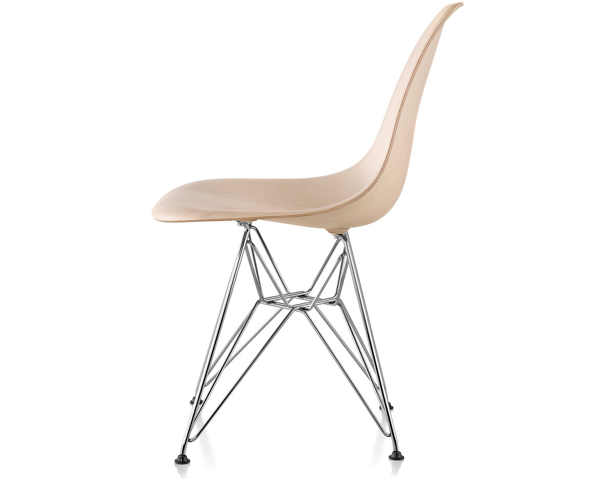 eames molded wood side chair dining room covers how to make with wire base hivemodern