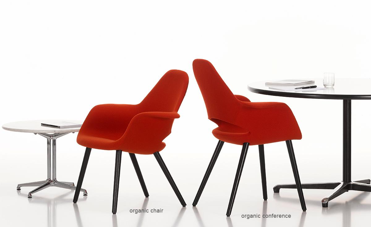 Eames  Saarinen Organic Chair  hivemoderncom