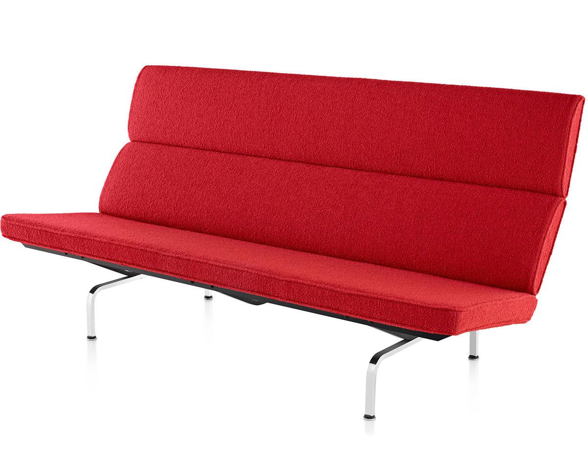 eames sofa compact preston ethan allen hivemodern