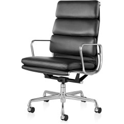 Designer Executive Chair Wicker Outdoor Chairs Eames Soft Pad Group Hivemodern