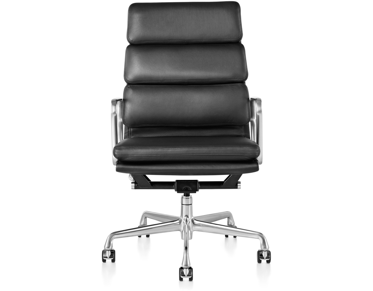 eames aluminum group management chair discount eames® soft pad executive - hivemodern.com