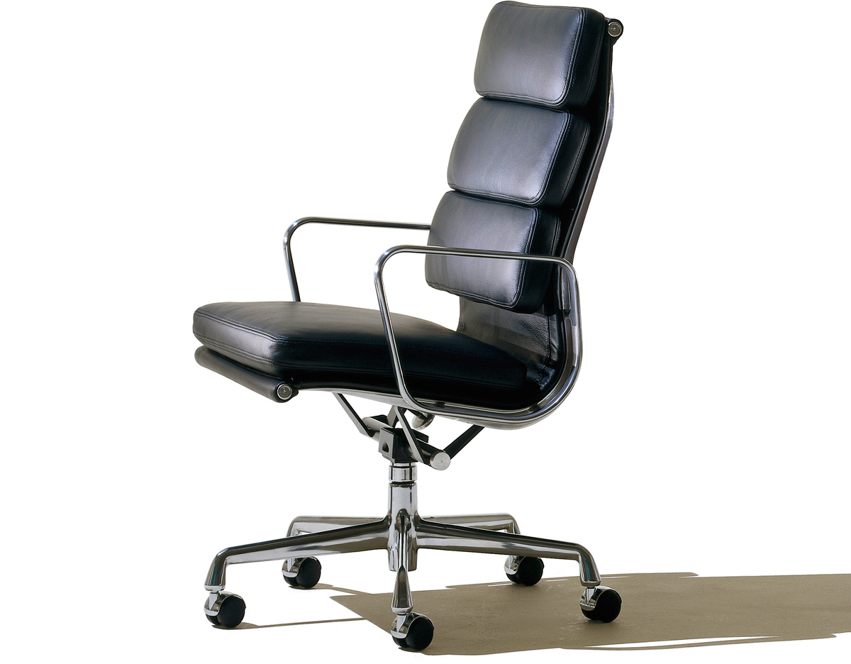 Herman Miller Eames Office Chair Eames Soft Pad Group Executive Chair Hivemodern