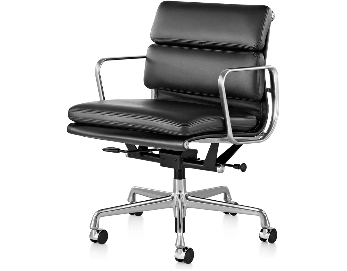 Herman Miller Eames Office Chair Eames Soft Pad Group Management Chair Hivemodern
