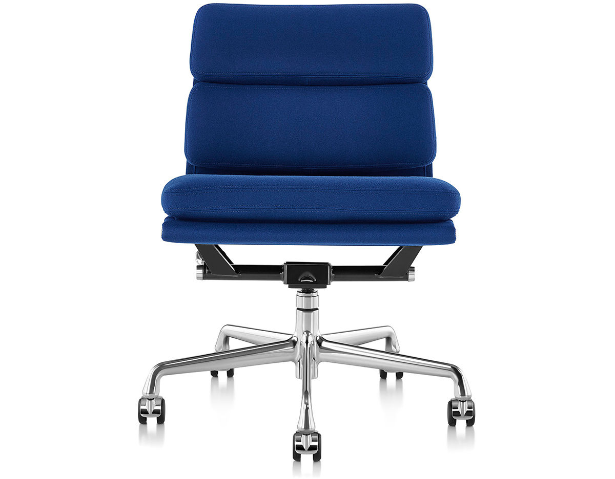 Eames Soft Pad Management Chair Eames Soft Pad Group Management Chair With No Arms