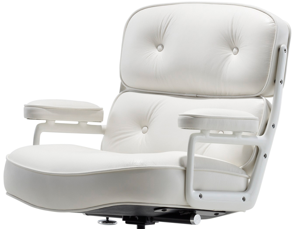 eames chair white bed sleeper time life executive hivemodern com