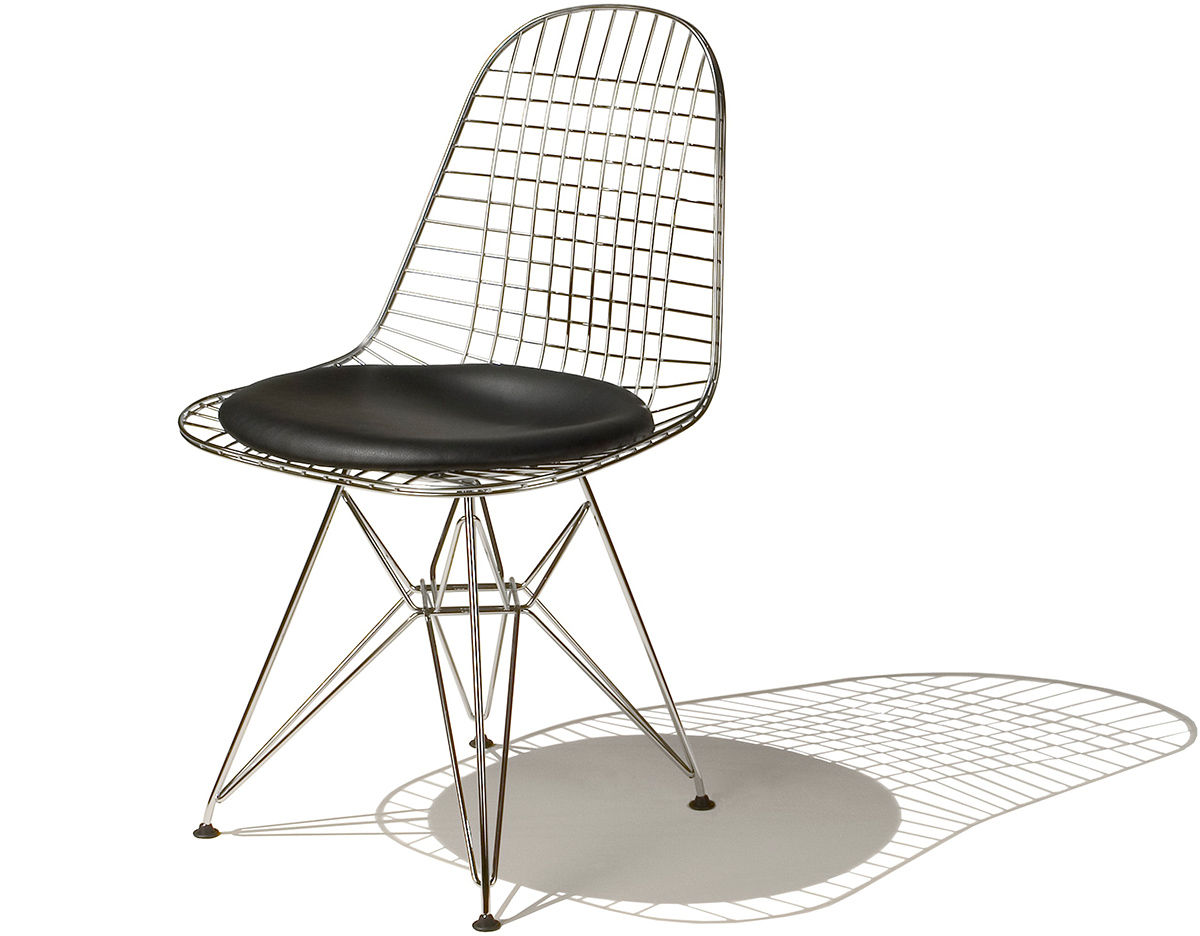 Eames Wire Chair With Wire Base  hivemoderncom