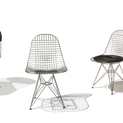 Eames Chair Herman Miller Soccer Folding Chairs Eames® Wire With Base - Hivemodern.com