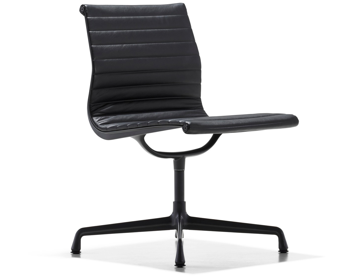 Herman Miller Eames Office Chair Eames Aluminum Group Side Chair Hivemodern