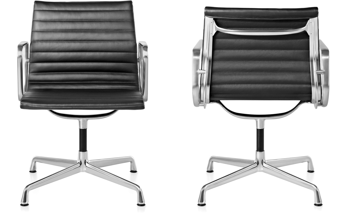eames aluminum chair carter high replacement parts group side hivemodern com
