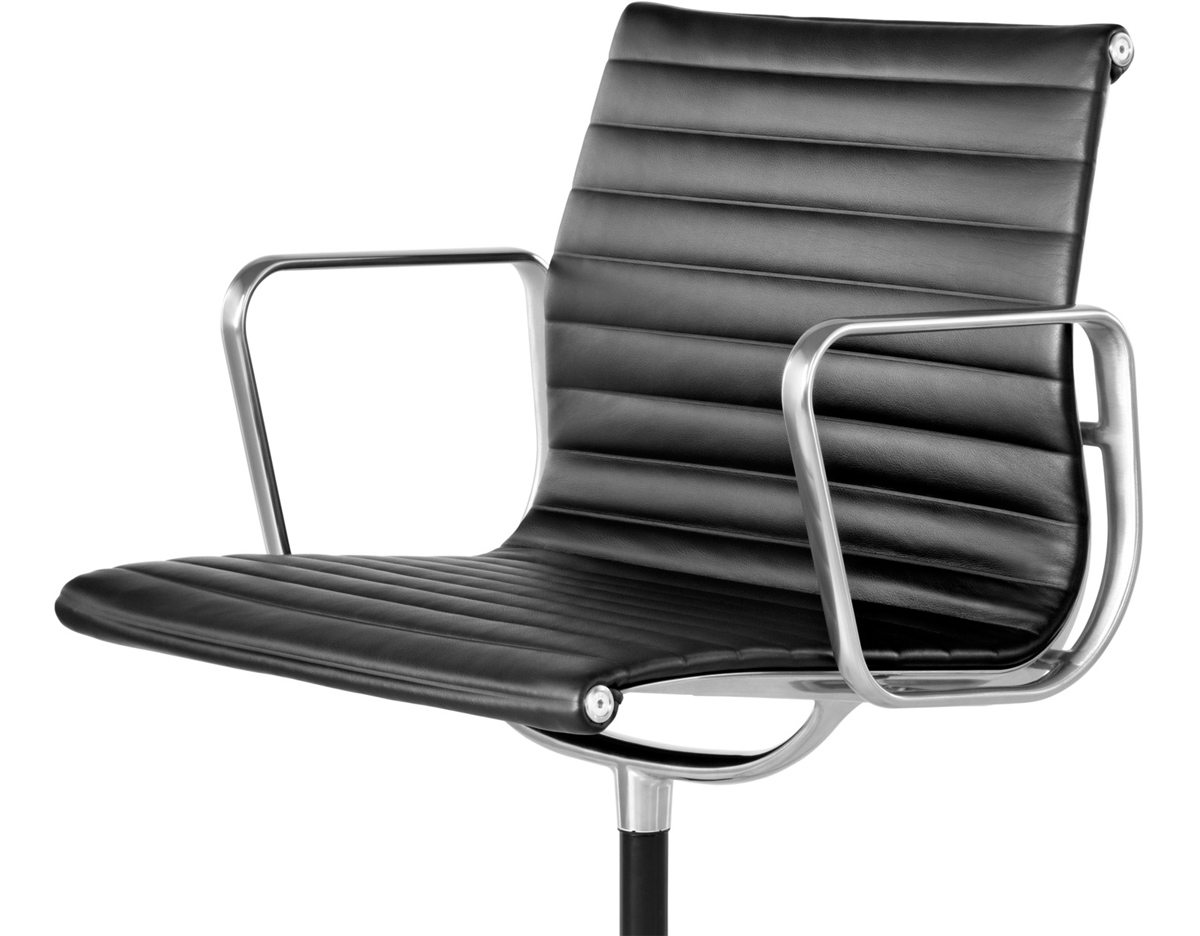 Aluminum Chairs Eames Aluminum Group Side Chair Hivemodern