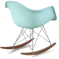 Chair Mould Design Acrylic Ghost Chairs Eames Molded Plastic Armchair With Rocker Base