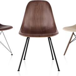 Eames Molded Wood Side Chair World Market Adirondack Chairs Peacoat Eames® With 4 Leg Base - Hivemodern.com