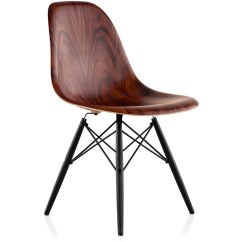 Eames Wood Chair Do They Make Covers For Recliners Molded Side With Dowel Base Hivemodern