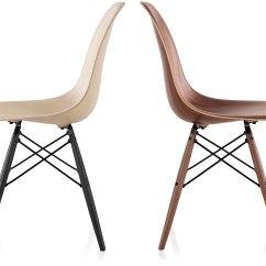 Eames Molded Wood Side Chair Replacement Swivel Base For Recliner With Dowel Hivemodern