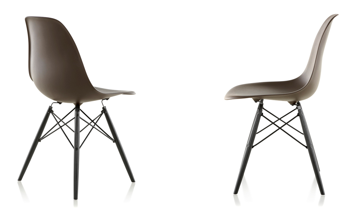 eames molded side chair rental prices plastic with dowel base hivemodern com