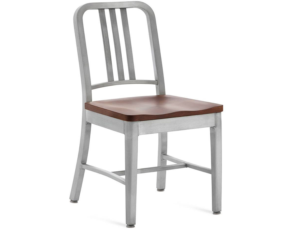 navy chair stool revolving in chandigarh emeco with wood seat hivemodern