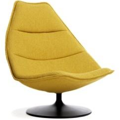 Dr Evil Chair Revolving High Back F585 Lounge Hivemodern