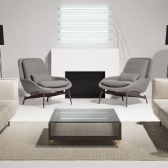 Patio High Back Chair Cushions Office No Wheels Uk Field Lounge - Hivemodern.com